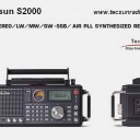 Tecsun S2000 FM Stereo LW MW SW SSB Air Pll Synthesized Radio