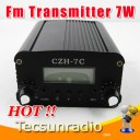 CZH 7W FM broadcast FM radio with fm transmitter fm exciter