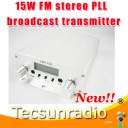 Fmuser CZH 15A 15W FM stereo PLL broadcast transmitter FM exciter 88Mhz 108Mhz