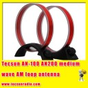 Tecsun AN100 AM antenna to enhance reception of AN-200 medium wave AM loop antenna