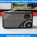 Tecsun A3 Portable Digital Speaker FM Digital Turning Broadcast Radio