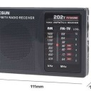 Free Shipping Tecsun R202t FM Mini portable pocket radio broadcast on campus radio