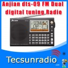Anjian dts-09 FM Dual Conversion Digital Tuning Radio