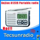 Anjian A1239 FM SW The smallest Double-conversion digital radio