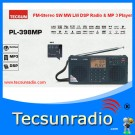 Tecsun PL398 FM-Stereo SW MW LW DSP Radio & MP 3 Player