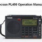 Tecsun PL450 English Manual PDF Download
