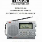 Tecsun PL-660 Radio English Manual