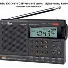 Kchibo KK-D6110 DSP Full-Band Stereo Digital Turning Radio English Manual