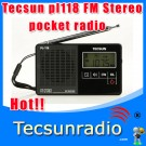 Tecsun pl118 Digital radio FM radio mini Radio