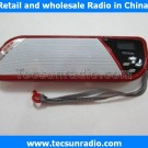 Tecsun FM radio A8 portable MP3 radio TF card mini card  mini Radio