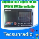 Degen DE1103 Digital FM AM LW MW SW Stereo Radio