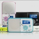 Hot sale Panda DS-111 card speaker the USB TF radio LED screen digital Speaker Free Shipping