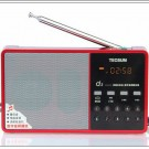 Tecsun D3 FM stereo radio mp3 digital speaker radio micro sd card speaker